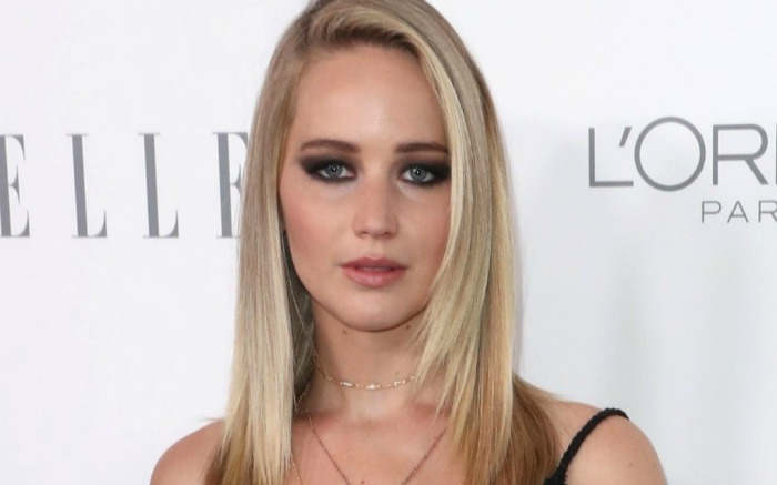 Jennifer Lawrence attends Elle Women In Hollywood event.