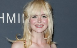 Elle Fanning at the InStyle Awards.