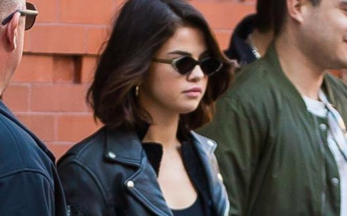 Selena Gomez heads to church in NYC.