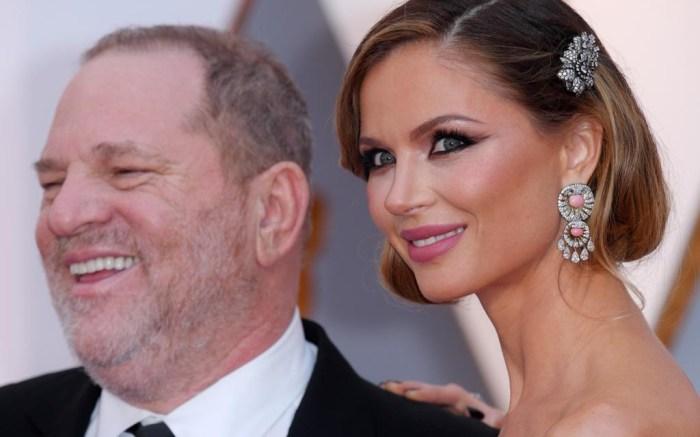 Harvey Weinstein wife Georgina Chapman