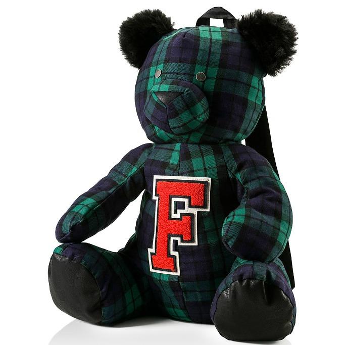 fenty puma by rihanna Plaid Mascot Bear Backpack