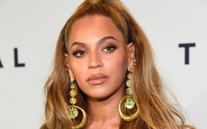 Beyoncé at Tidal's hurricanebenefit concert in Brooklyn
