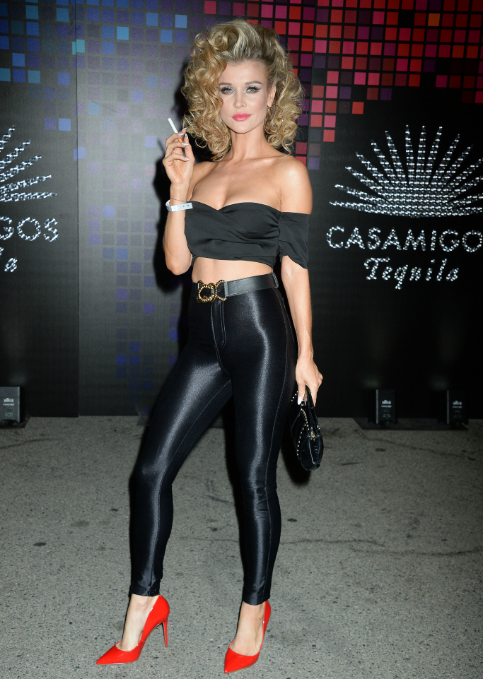 Joanna Krupa as Sandy from Grease