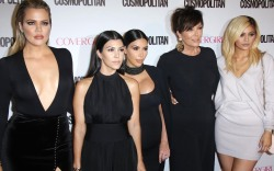 Kris Jenner, Kourtney Kardashian, Kim Kardashian,