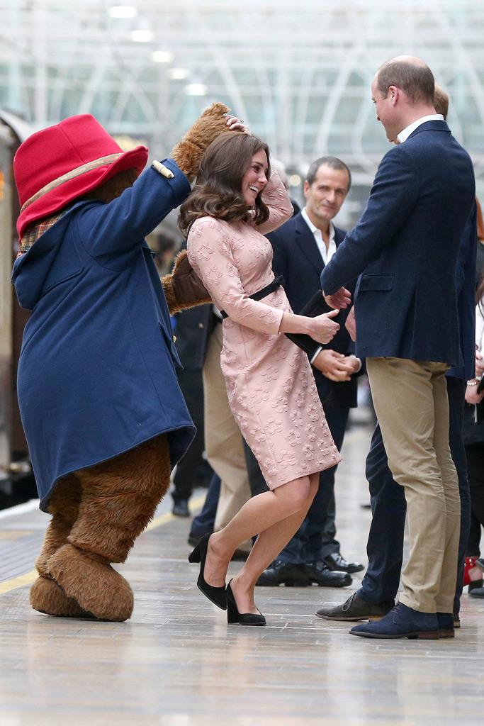 Kate Middleton, Paddington Bear, Prince William