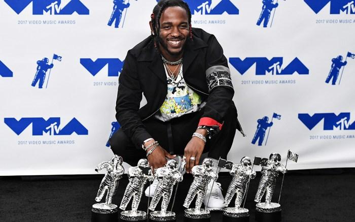 Kendrick LamarMTV Video Music Awards, Press Room, Los Angeles, USA - 27 Aug 2017
