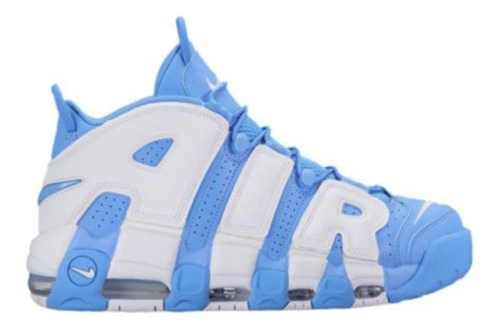 nike air more uptempo in baby blue