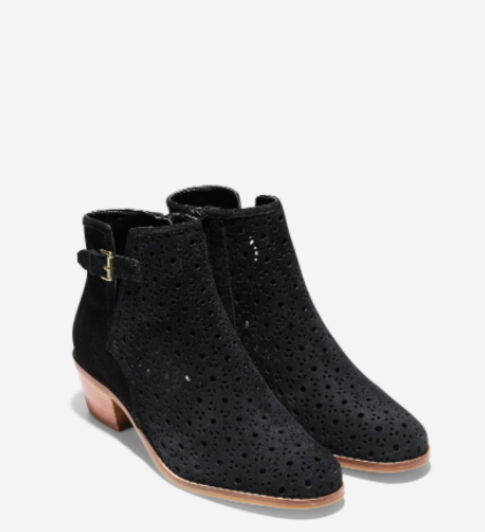 Cole HaanWillette Perforated Bootie
