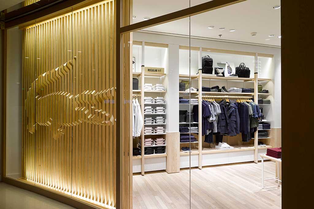 Lacoste's new store concept