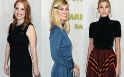 Jessica Chastain, January Jones and Hailey