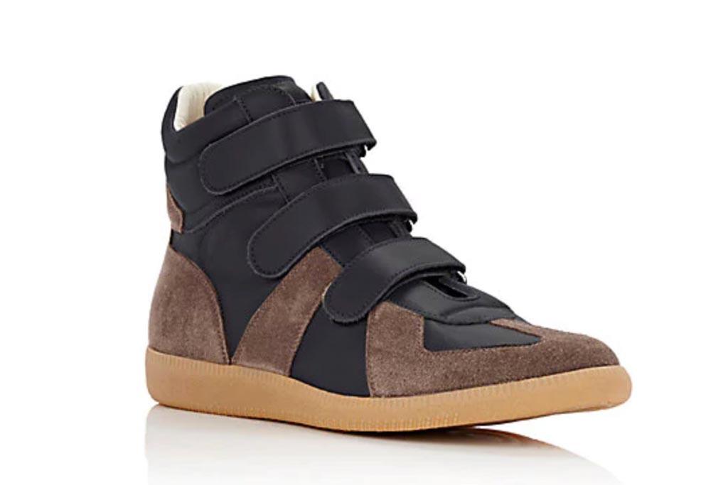 Maison Margiela Suede High-top Sneaker