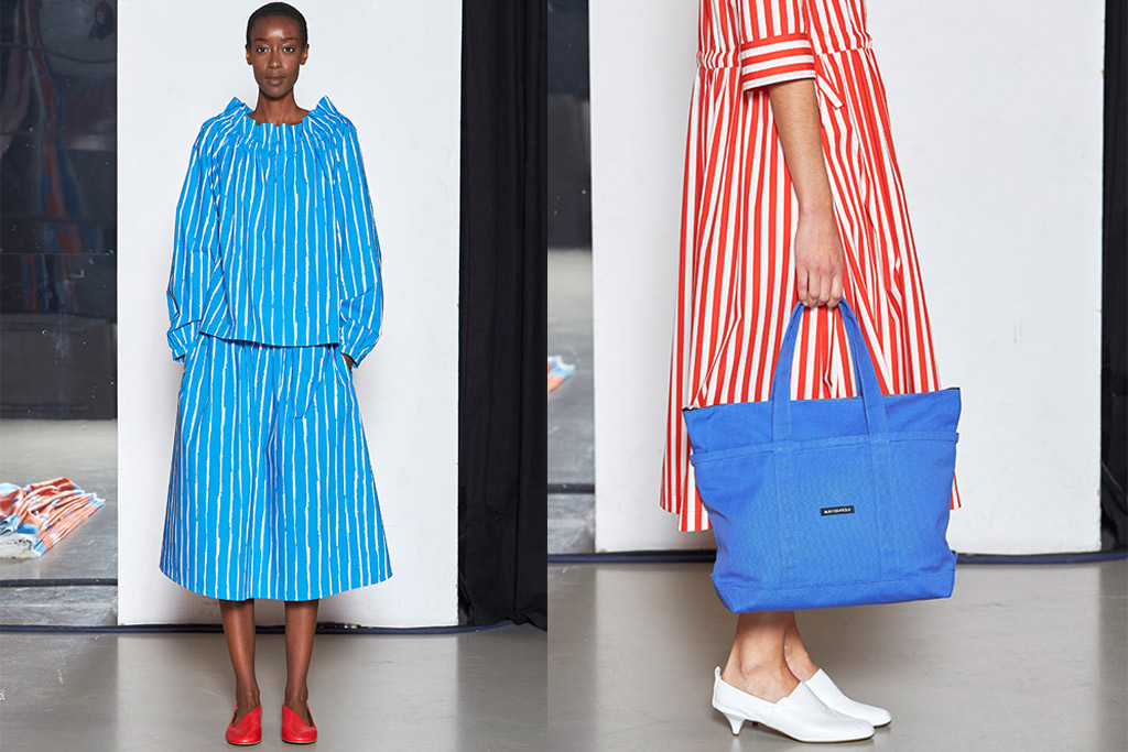 marimekko, ready-to-wear, spring 2018, paris fashion week