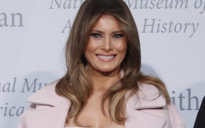 Melania Trump Inaugural dress