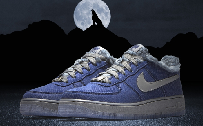 Nike Air Force 1 GS Full Moon