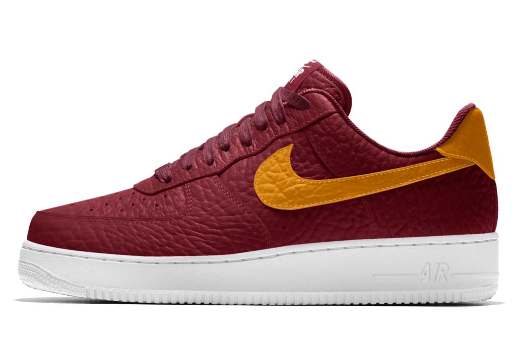 Nike Air Force 1 Premium iD Cleveland Cavaliers