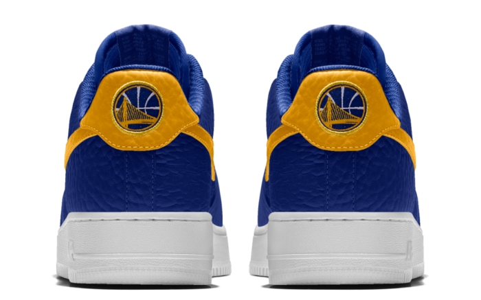 Nike Air Force 1 Premium iD Golden State Warriors