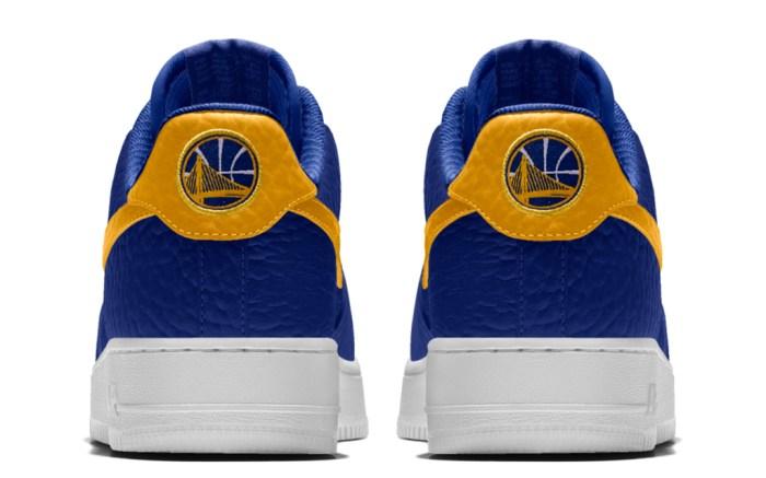 Nike Air Force 1 Premium iD Golden State Warriors