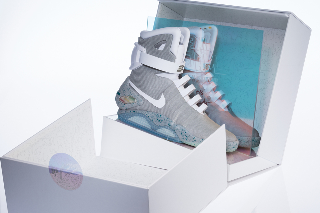 Back to the Future Nike Mag Shoes
