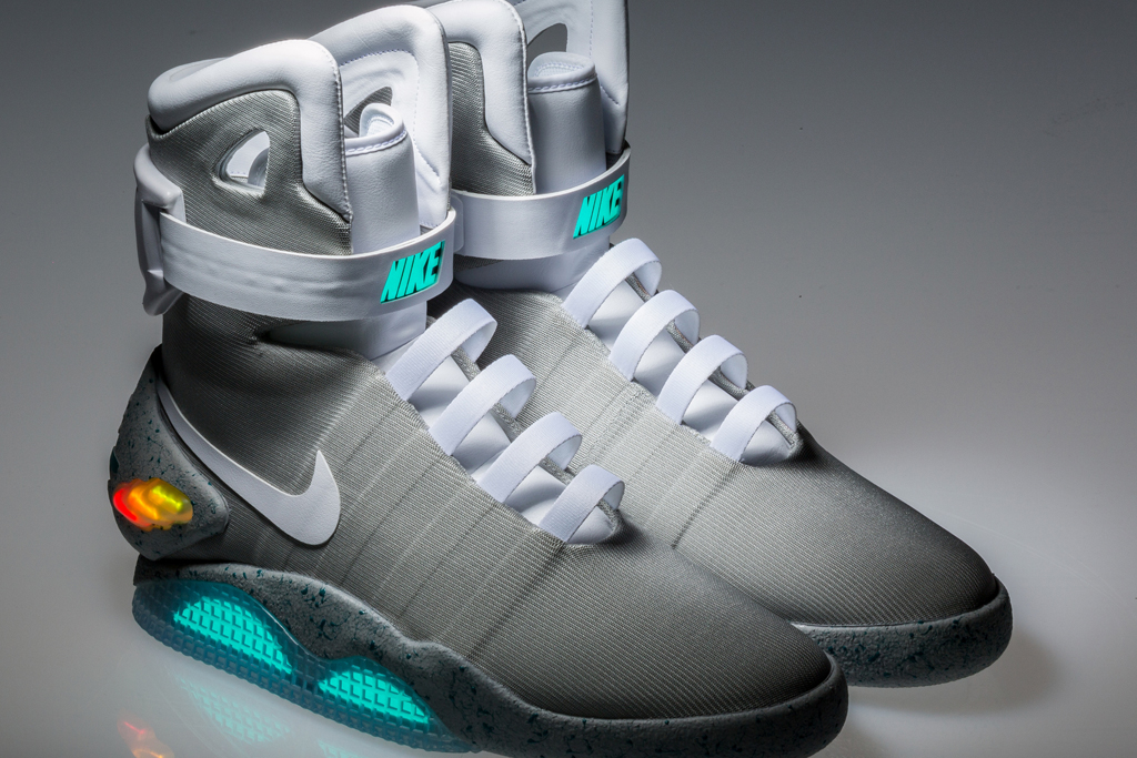 temerario montaje ética  Back to the Future Nike Mag Shoes Expected to Sell for up to $50,000 –  Eurostars-eureka News