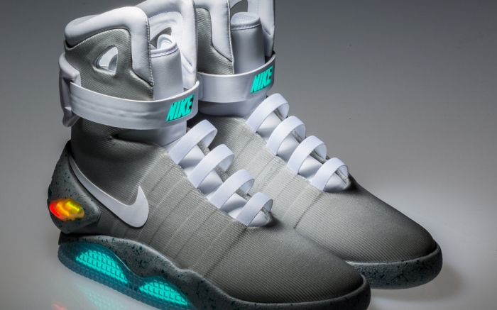 tubo respirador compromiso Contribuir  Back to the Future Nike Mag Shoes Expected to Sell for up to $50,000 –  Footwear News