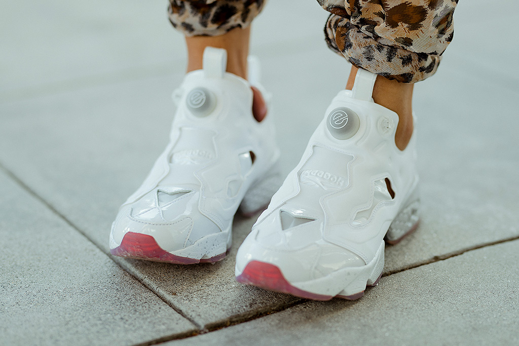 reebok, epitome, instapump, evolution of the woman