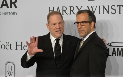 Harvey Weinstein, Kenneth ColeamfAR gala, New
