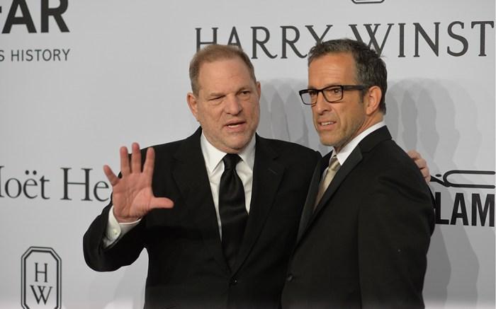 Harvey Weinstein, Kenneth ColeamfAR gala, New York, America - 10 Feb 2016