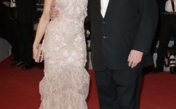 Georgina Chapman and Harvey Weinstein on the Red Carpet