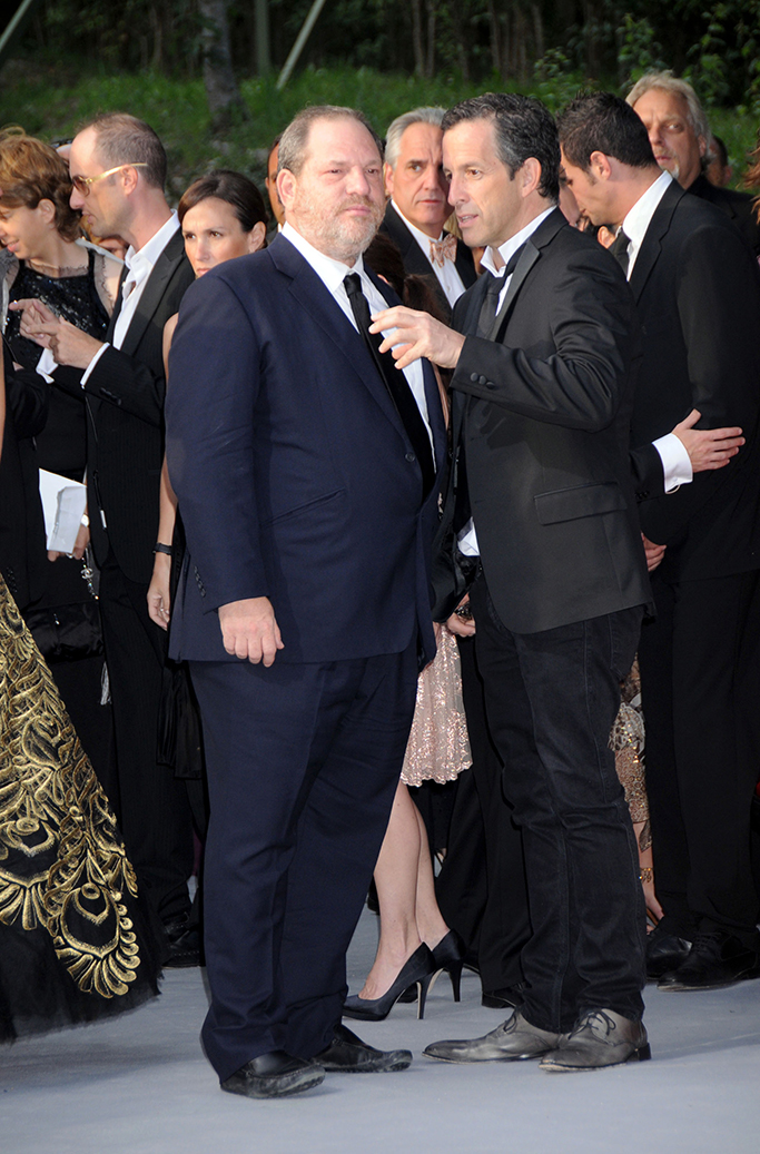 Harvey Weinstein and Kenneth ColeAMFAR 'Cinema Against Aids 2008' Party at Moulin De Mougins, Cannes, France - 22 May 2008