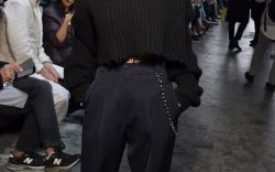 Celebs on the Front Row at PFW
