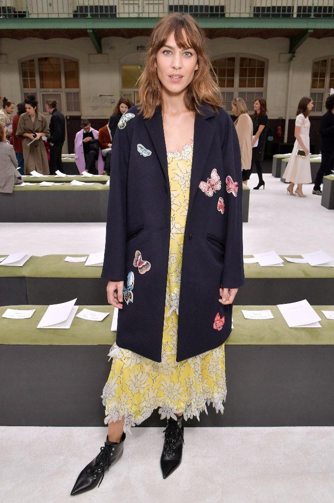 Alexa Chung at Valentino spring 2018