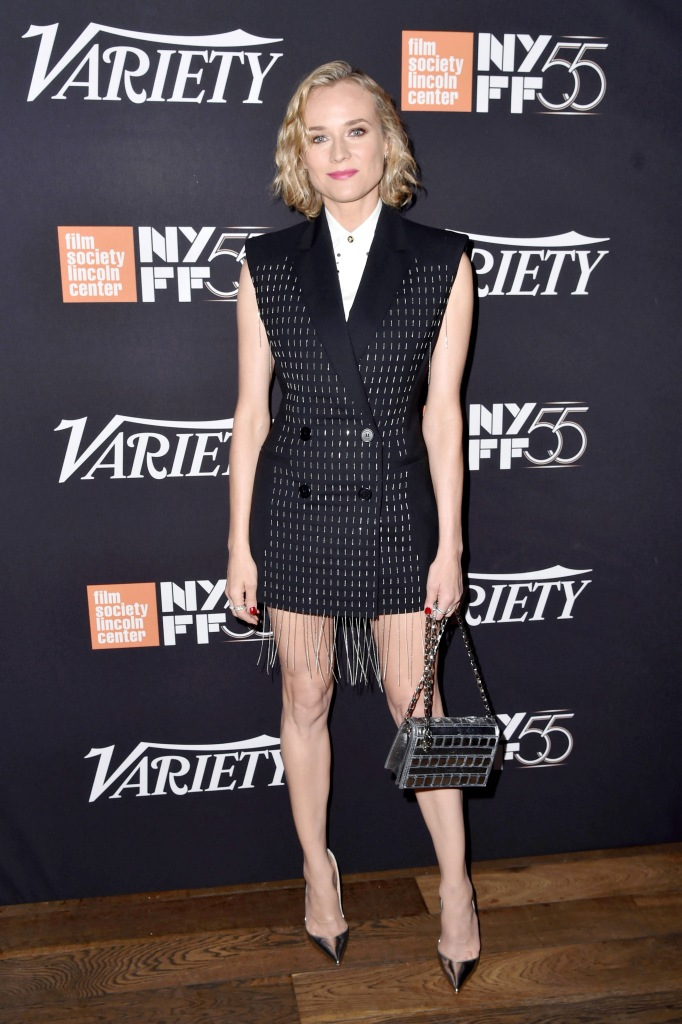Diane Kruger at an event in New York City.