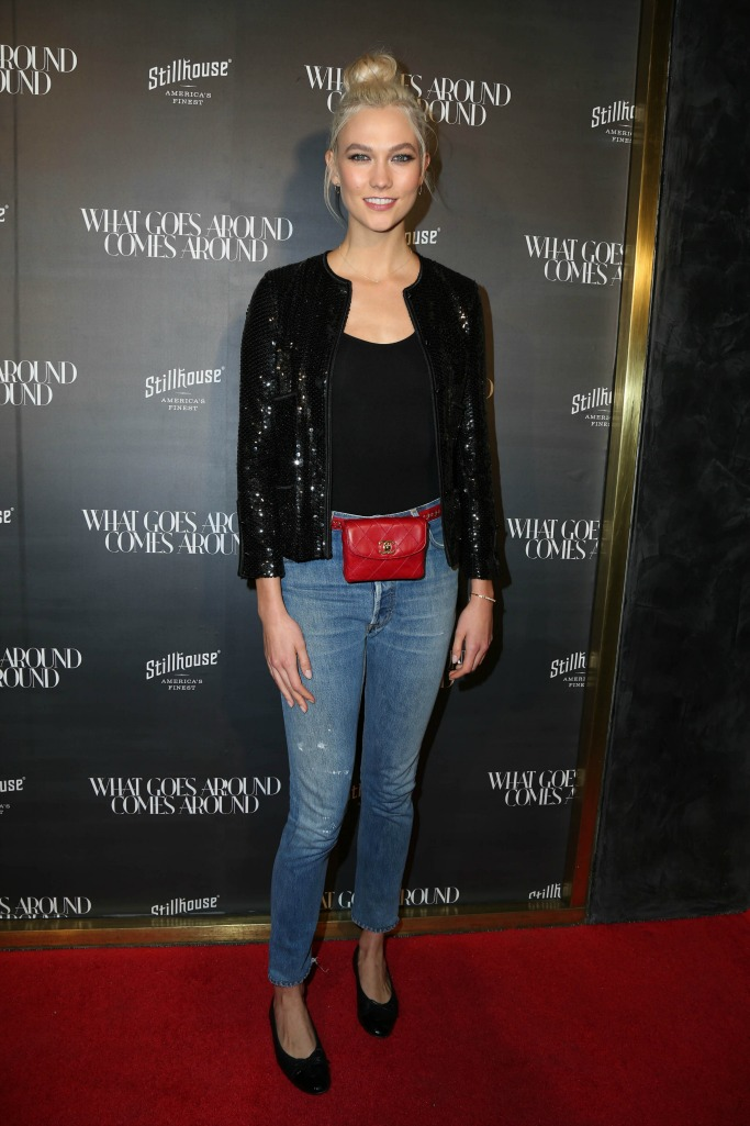 karlie kloss wearing Chanel