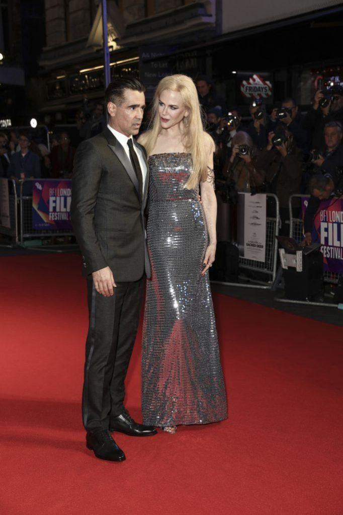 Colin Farrell, Nicole KidmanFilm Festival The Killing Of A Secret Deer Premiere, London, United Kingdom - 12 Oct 2017