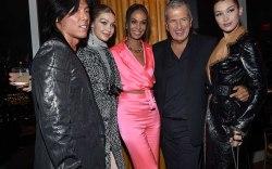 V Magazine dinner in honor of Karl Lagerfeld, New York, Oct. 23, 2017