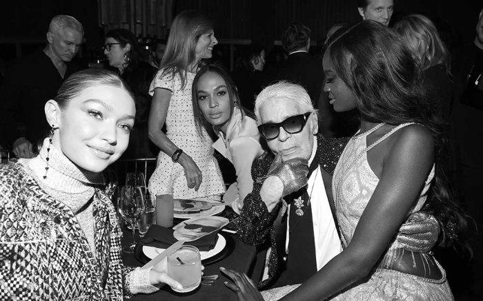 V Magazine dinner in honor of Karl Lagerfeld, New York, USA – 23 Oct 2017