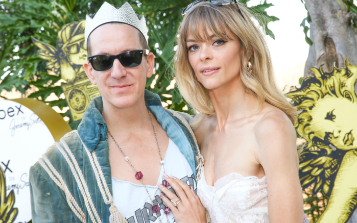 Jeremy Scott with Jaime King