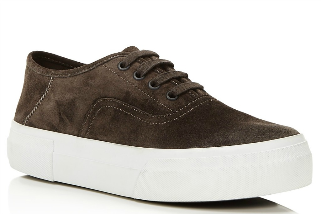 VinceCopley Suede Lace Up Sneakers