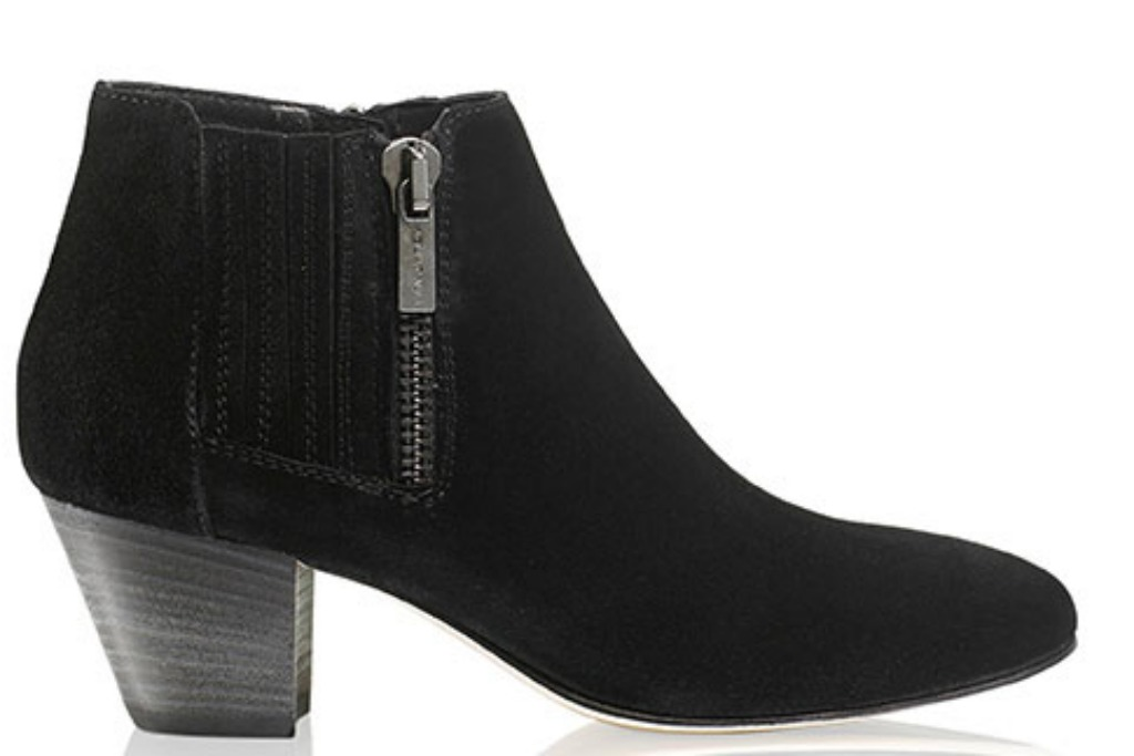Russell & Bromley fallon mid zip chelsea boot