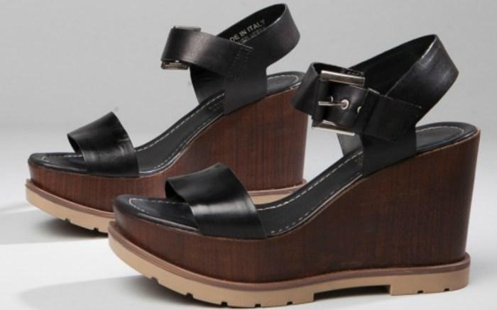 Summit by White Mountain Vivianne Italian leather sandal