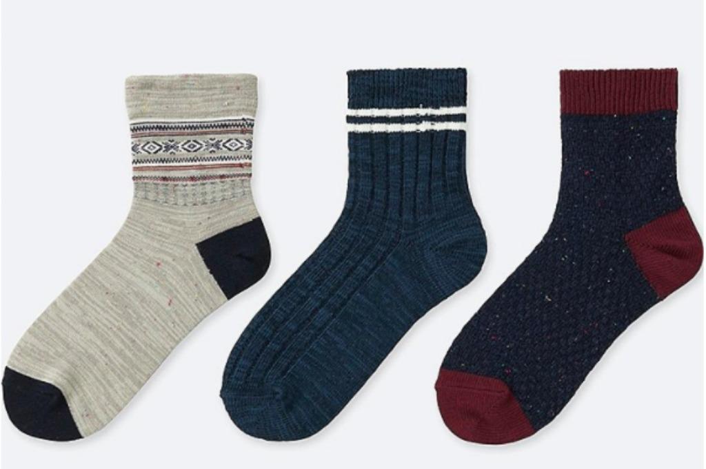 uniqlo fairisle socks