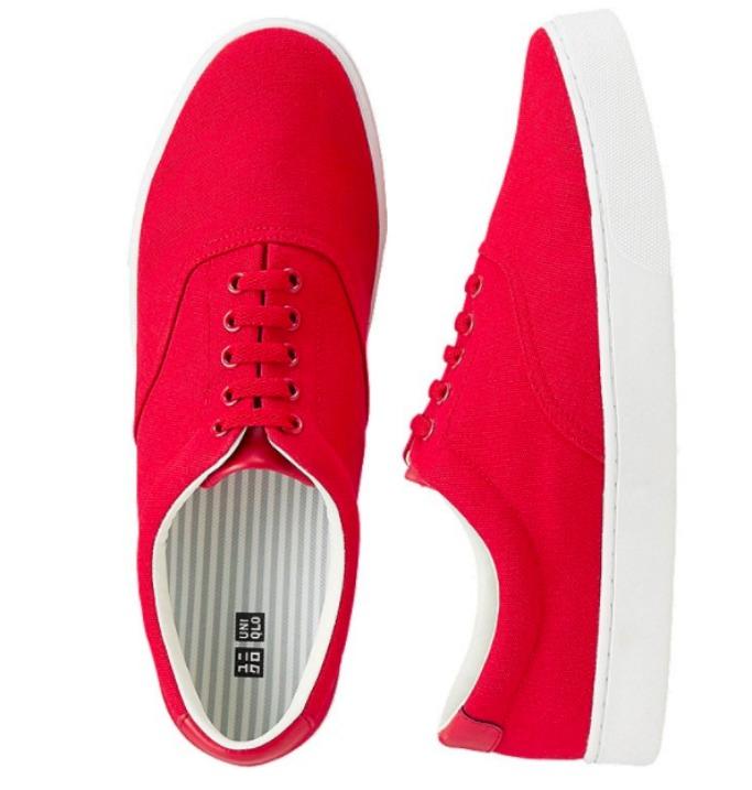 mens shoe lace sneaker