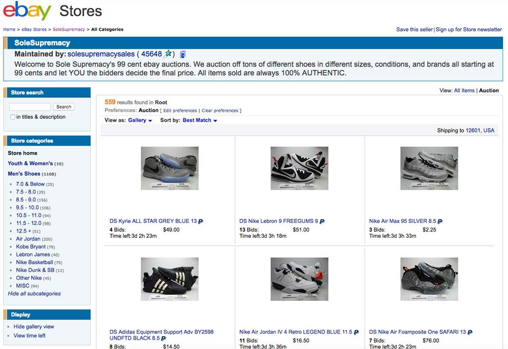 ebay auction