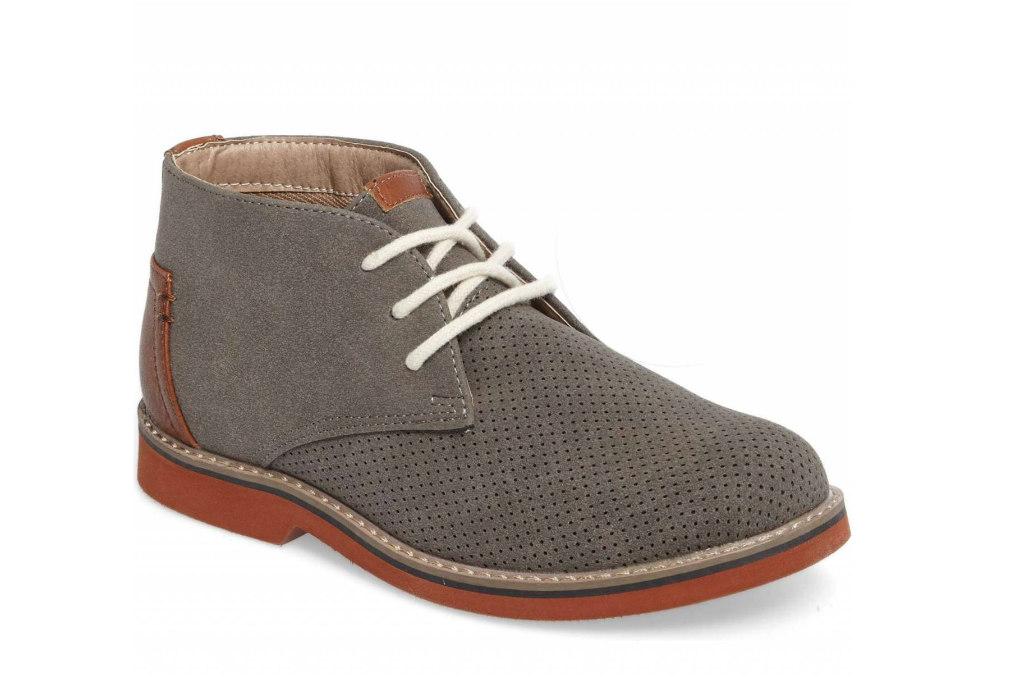 steve madden Baden perforated chukka boot