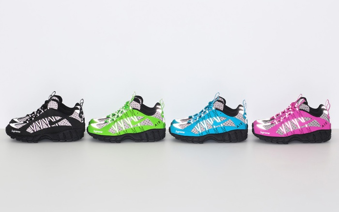 donde quiera seguridad cesar  How to Get Supreme's New Limited-Edition Nike Shoes This Week – Footwear  News