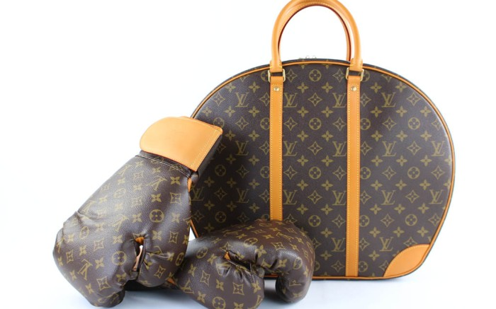 Tradesy's Louis Vuitton boxing gloves