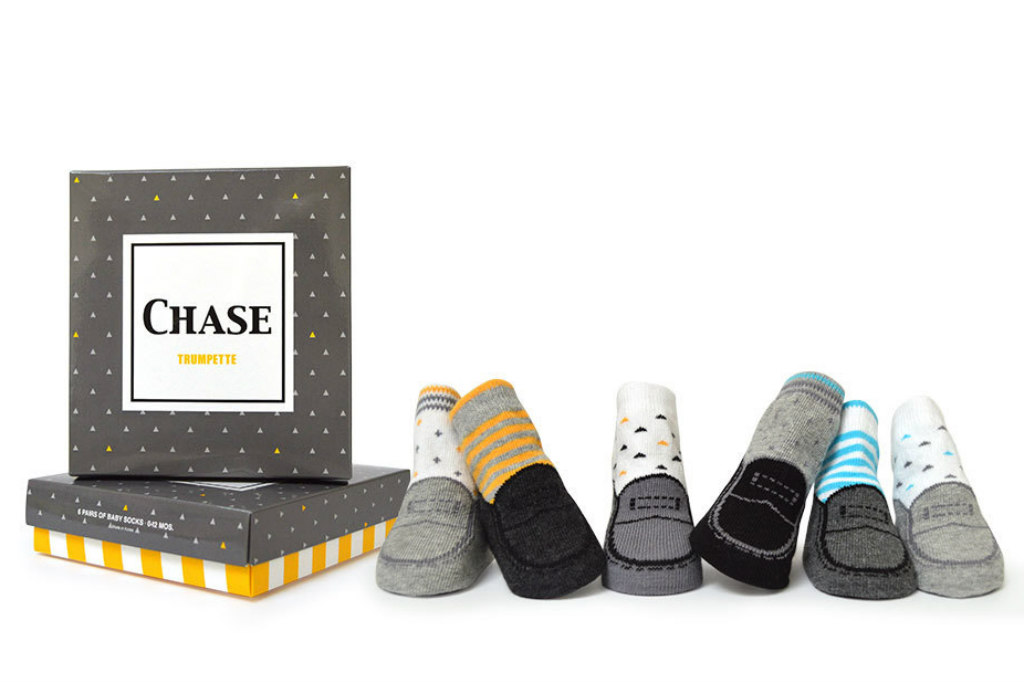 trumpette chase baby socks, Baby Boy Socks That Look Like Real Shoes