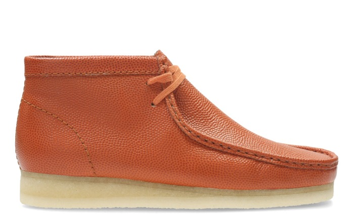 Excepcional no relacionado falso  New Clarks Shoes Men's Boots Are Inspired By Footballs & Basketballs –  Footwear News