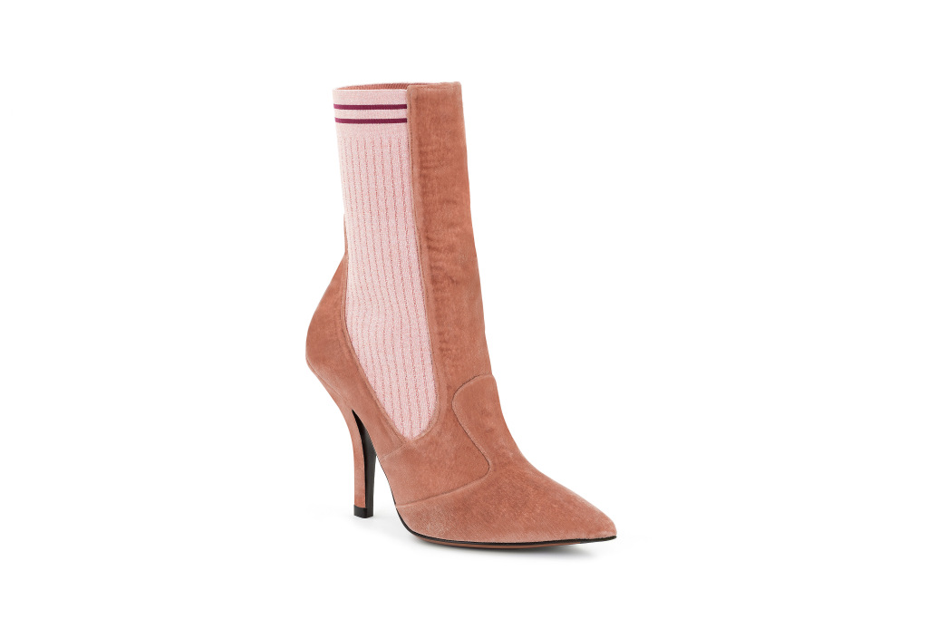 A shoe from the Fendi capsule collection for Mytheresa.com.
