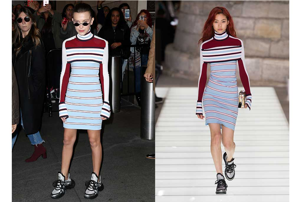 Millie Bobby Brown style Louis Vuitton